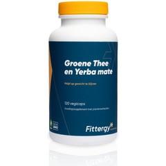 Fittergy Groene thee en yerba mate (120 capsules)