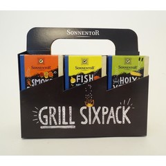 Sonnentor BBQ Kruiden sixpack bio (1 set)