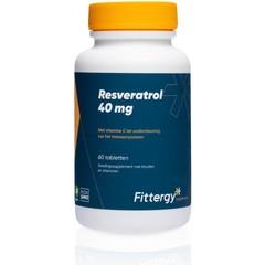 Fittergy Resveratrol 40 mg (60 tabletten)