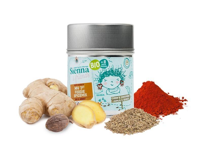 Sienna & Friends Eerste foodie kruidenmix bio (39 gram)