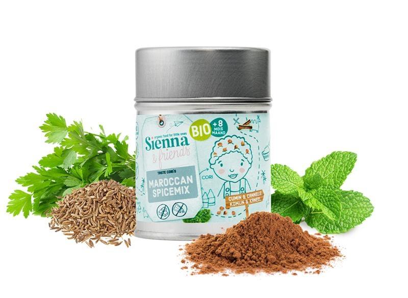Sienna & Friends Marokkanse kruidenmix bio (38 gram)
