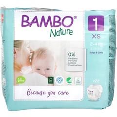Bambo Newborn luier 1 2-4 kg (22 stuks)