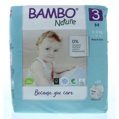 Bambo Babyluier midi 3 4-8 kg (28 stuks)
