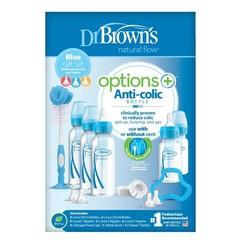 Dr Brown's Giftset standaard fles blauw (1 set)