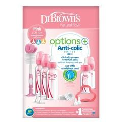 Dr Brown's Giftset standaard fles roze (1 set)
