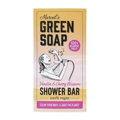 Marcel's GR Soap Shower bar vanilla & cherry (150 gram)