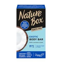 Nature Box Body bar coconut (150 gram)