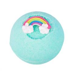 Treets Bath ball fizzer rainbow rebel (1 stuks)