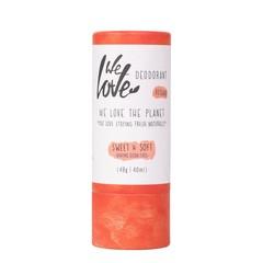 We Love 100% Natural deodorant stick sweet & soft (48 gram)