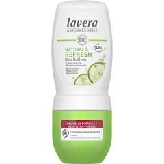 Lavera Deodorant roll-on natural & refresh F-D (50 ml)