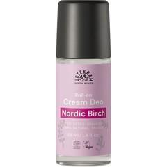 Urtekram Deodorantroller creme nordic birch (50 ml)