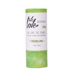 We Love 100% Natural deodorant stick luscious lime (48 gram)