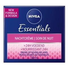 Nivea Essentials nachtcreme herstellend (50 ml)