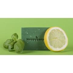 Happysoaps Happy body bar citroen en basilicum (100 gram)
