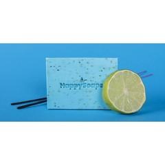Happysoaps Body bar bergamot en wierook (100 gram)