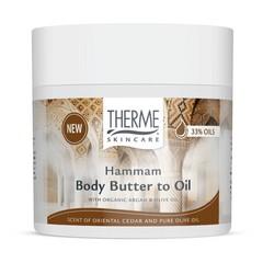 Therme Hammam bodybutter to oil (225 gram)