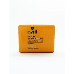 Avril Handzeep citrus bio (100 gram)