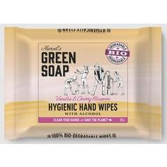 Marcel's GR Soap Hand wipes vanilla & cherry blossom bio (15 stuks)