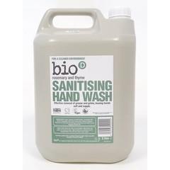 Bio-D Handzeep vloeibaar rozemarijn & tijm (5 liter)