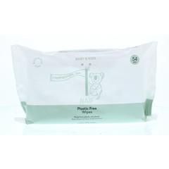 Naif Baby wipes plastic free (54 stuks)
