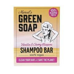 Marcel's GR Soap Shampoo bar vanilla & cherry (90 gram)