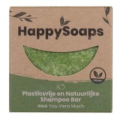 Happysoaps Shampoo bar aloe you vera much (70 gram)