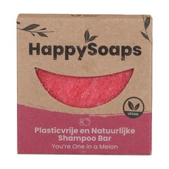 Happysoaps Shampoo bar you're one in a melon (70 gram)