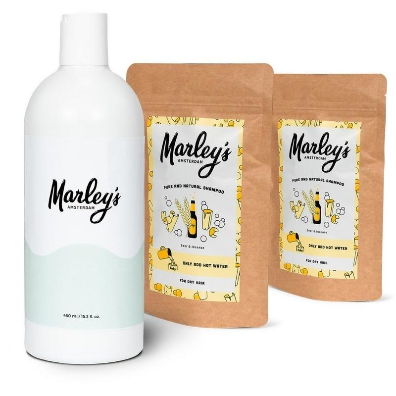 Marley's Ams Pakket 2x bier & wierook shampoo (1 set)