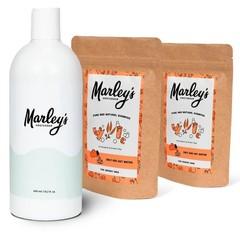 Marley's Ams Pakket 2x eucalyptus & groene klei shampoo (1 set)
