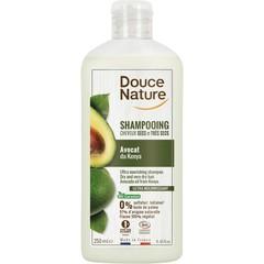 Douce Nature Shampoo droog haar avocado olie (250 ml)