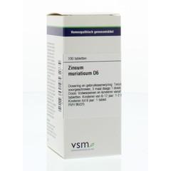 VSM Zincum muriaticum D6 (200 tabletten)
