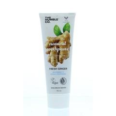 The Humble Co Tandpasta fresh ginger (75 ml)