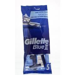 Gillette Blue II wegwerpmesjes (5 stuks)