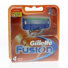 Gillette Fusion mesjes (4 stuks)