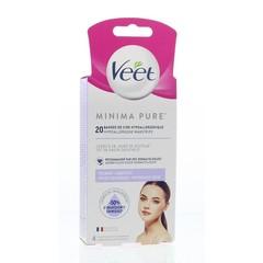 Veet Minima wasstrip gezicht (20 stuks)