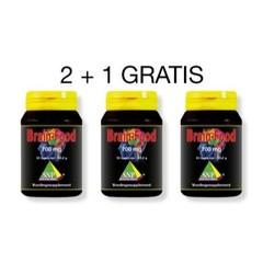 SNP Brainfood actie 2 + 1 gratis (90 capsules)