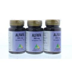 SNP Alfalfa actie 2 + 1 gratis (300 tabletten)