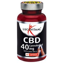Lucovitaal CBD Cannabidiol 40 mg (90 capsules)