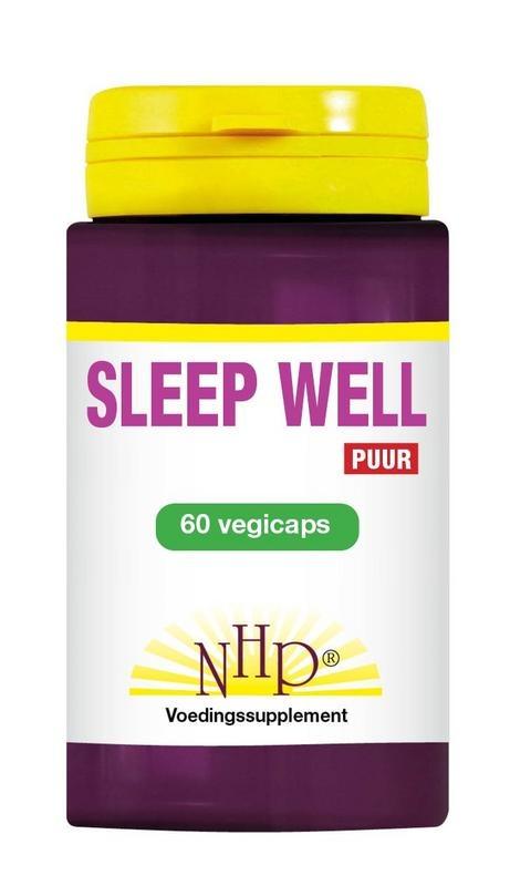 NHP Sleep well 700mg puur (60 vcaps)