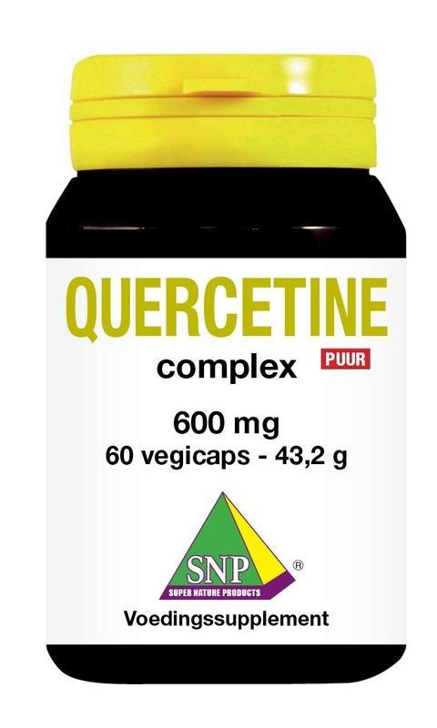 SNP Quercetine complex 600 mg puur (60 vcaps)