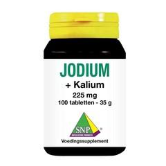SNP Jodium 225 mcg + kalium (100 tabletten)
