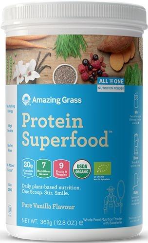 Amazing Grass Amazing Grass Protein superfood pure vanille bio (363 gram)