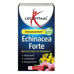Lucovitaal Echinacea forte & cats claw & Vitamine C (30 capsules)