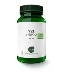 AOV 721 Krillolie (60 capsules)