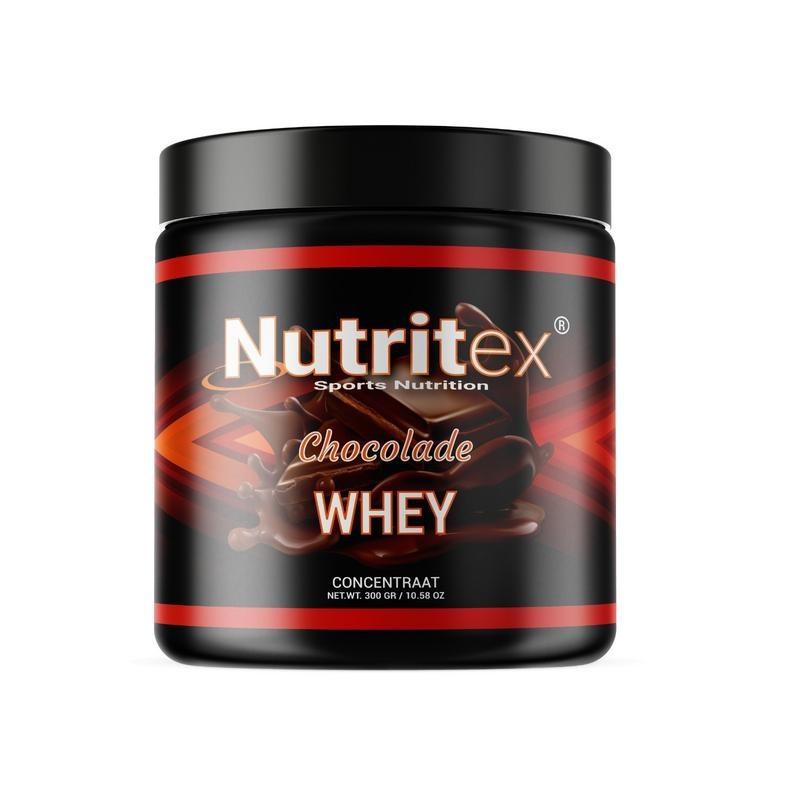 Nutritex Whey proteine chocolade (300 gram)
