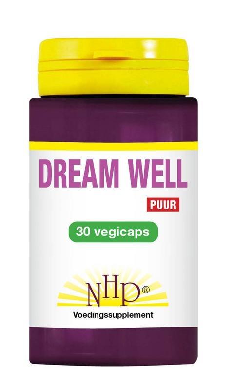 NHP Dream well vegicaps puur (30 vcaps)