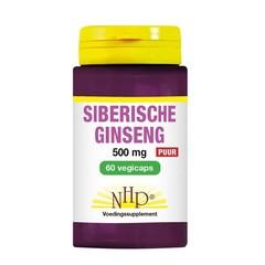 NHP Siberische ginseng 500 mg puur (60 vcaps)