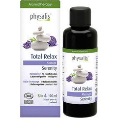 Physalis Massageolie total relax bio (100 ml)
