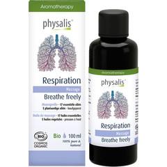 Physalis Massageolie respiration bio (100 ml)