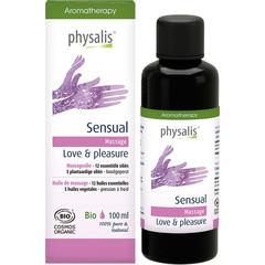 Physalis Massageolie sensual bio (100 ml)